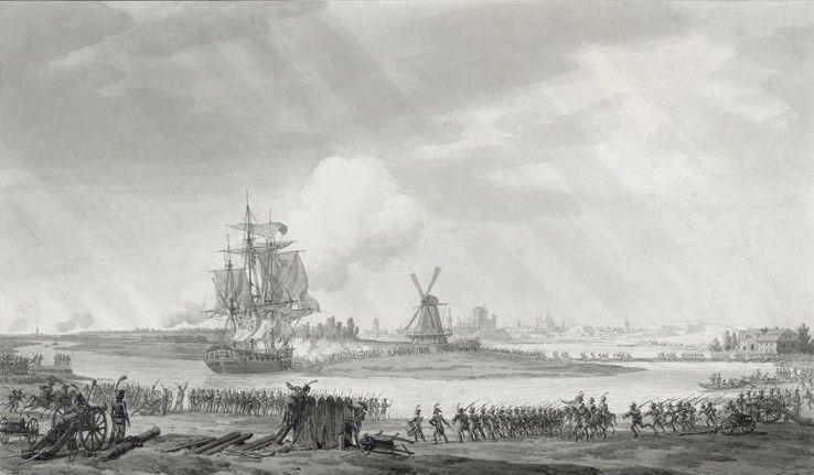 armia francuska pod Gdańskiem 1807 r.
