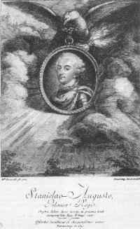 Antoine de Marcenay de Ghuy Portret Stanisława Augusta