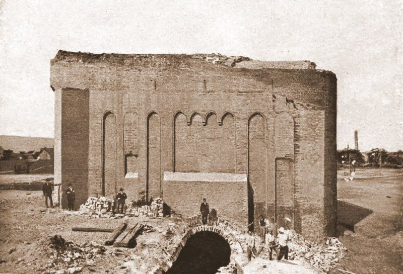 Rozbiórka Bastionu Karowego