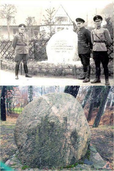 kamień upamiętniający