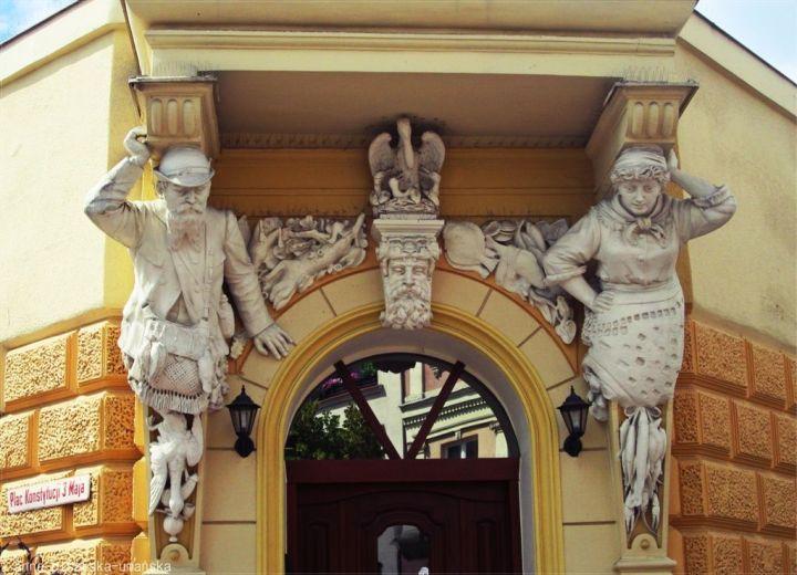 Główne wejście.