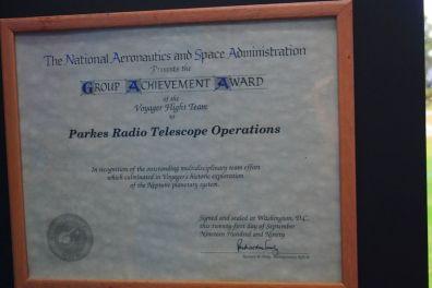 NASA dla Parkes