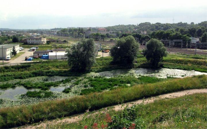 Widok z Bastionu św. Gertrudy
