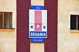 Tereny dawnego klubu Gedania - stan w roku 2013