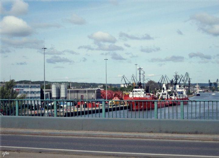 widok z Mostu Siennickiego