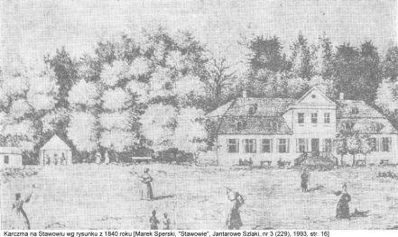 karczma w 1840 roku