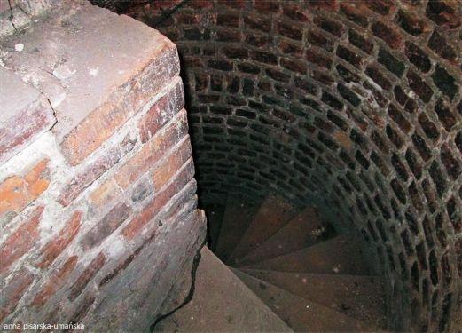 schody na wieżyczkę