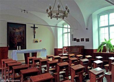 kaplica dla braci zakonnych, w drodze do piwnic