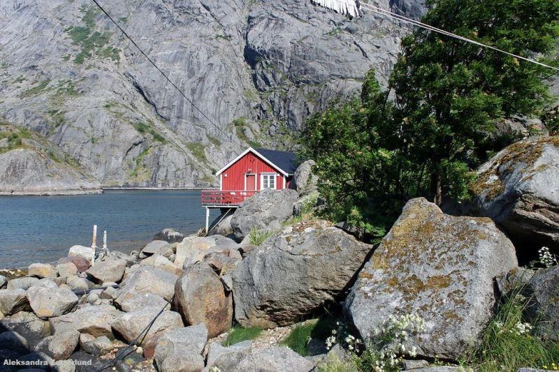 Rorbuer, stare domki rybackie