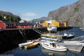 Lofoty, osada Nusfjord