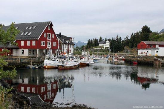 Lofoty, osada Kabelvåg