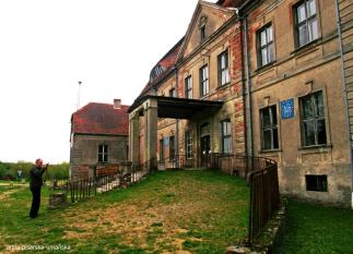 pałac Heinrichsdorf od frontu