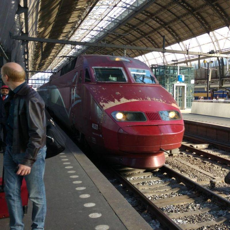 Szybki pociąg, fot. Igor Makowski