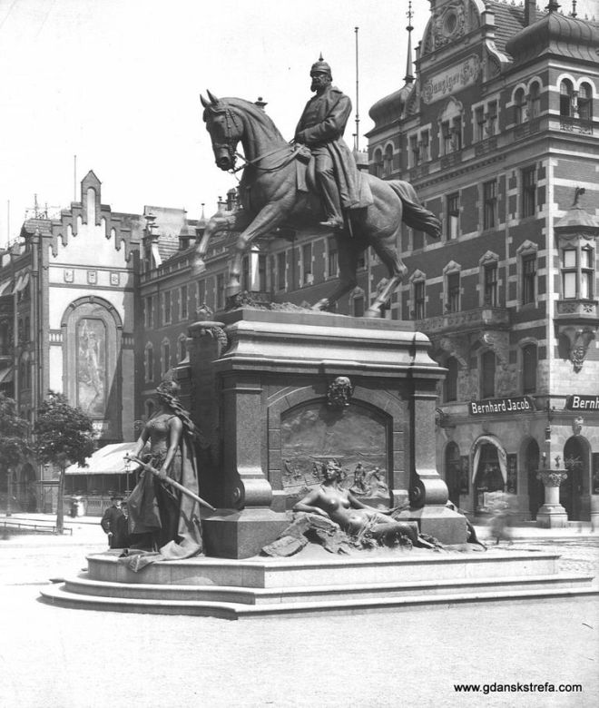 konny pomnik cesarza Wilhelma I