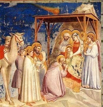 """Giotto """"Adoracja magów"""""""