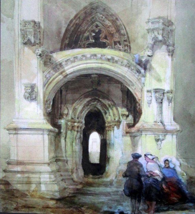 David Roberts 1842 r.