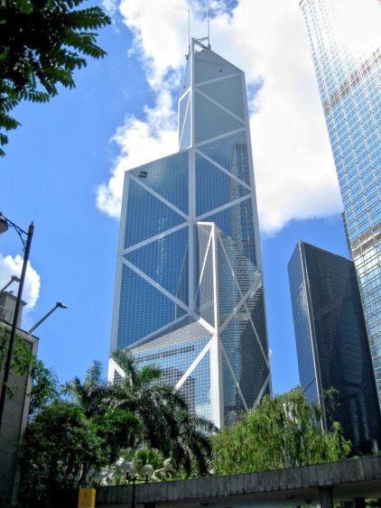Bank of China, Hong Kong, źródło: Wikipedia