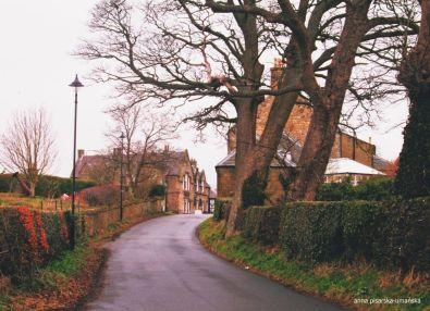 droga w Roslin do kaplicy