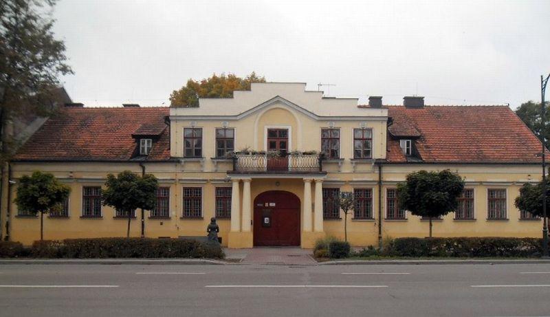 Muzeum Marii Konopnickiej w Suwałkach, autor zdjęcia nieznany