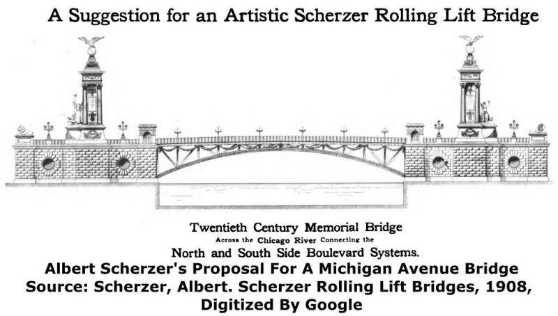 projekt Michigan Avenue Bridge