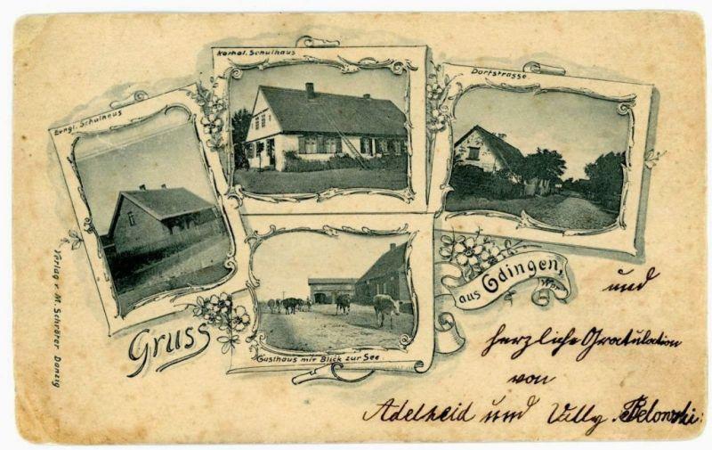 stare zabudowania przy Starowiejskiej, 1900 r.
