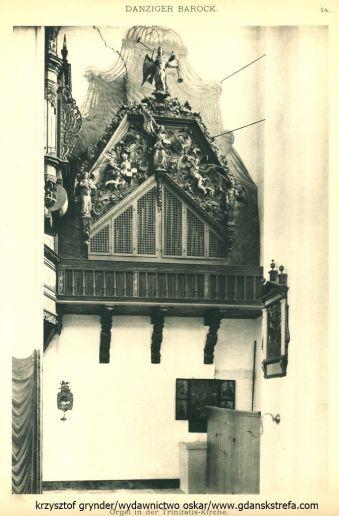 organy w kościele św. Trójcy