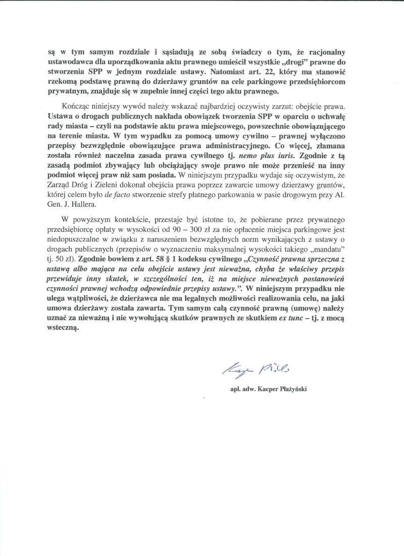 Opinia nt. SPP w Gdańsku 3