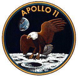 Oficjalny logotyp misji Apollo 11