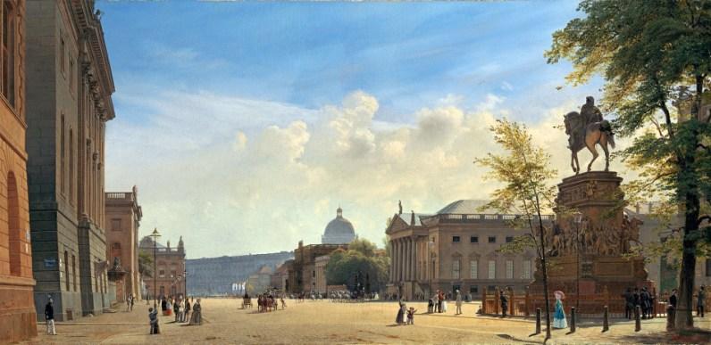 Unter den Linden - Eduard Gaertner, 1853