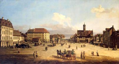 Nowy Rynek - Bernardo Bellotto, 1751-52