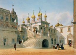 Pałac Bojarów na Kremlu - Felix Benoist, 1840