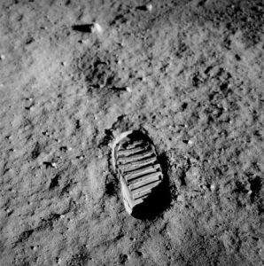 Ślad buta Edwina Aldrina