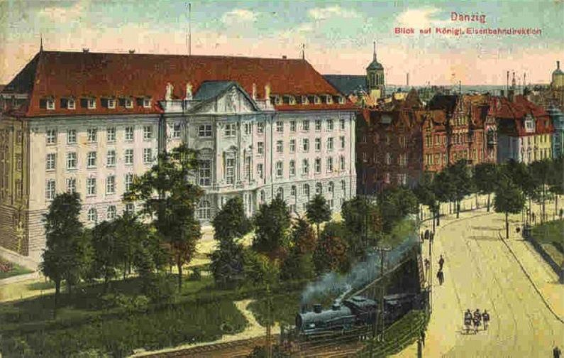 Irrgarten w 1916 r.