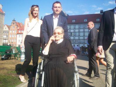starsza pani-Kombatant, z archiwum autorki