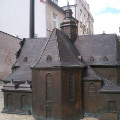 makieta kościoła