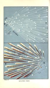 Radianty rojów Lirydów i Leonidów w angielskim podręczniku astronomii z 1875 roku
