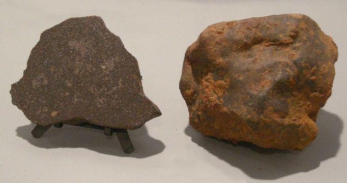 Bryłki meteorytu Pułtusk