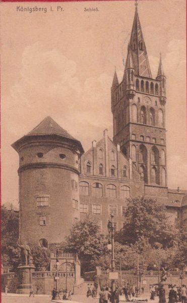zamek w Królewcu
