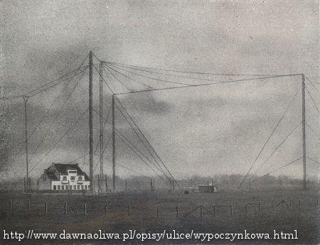 Stacja nadawcza w Jelitkowie (źródło: dawnaoliwa.pl)