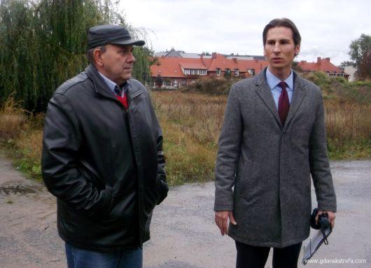 Kacper Płażyński i Marek Malinowski