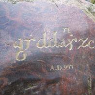 najstrsza forma nazwy Gdańska, z archiwum autorki