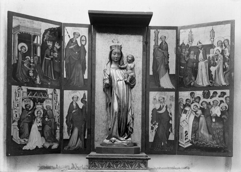 Ołtarz z kaplicy św. Kosmy i Damiana