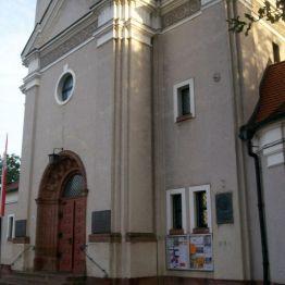 kościół pw. św.Andrzeja Boboli; z archiwum autorki