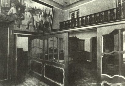 Bank Kwilecki, Potocki wnętrze
