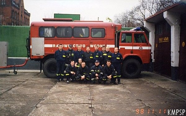 straż pożarna na Dolnym Mieście