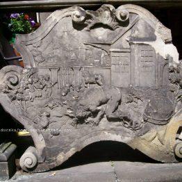 Fragment przedproża przy ul.św. Ducha