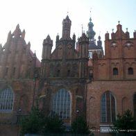 Szczyty kościoła św. Katarzyny