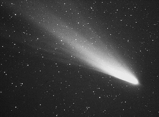 Kometa Halleya sfotografowana podczas kolejnego powrotu w okolice Słońca w 1986 roku