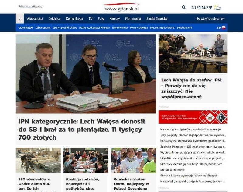 strona gdansk.pl