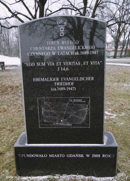Teren byłego cmentarza